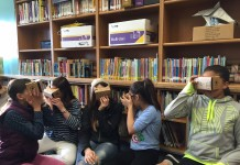 students, virtual reality
