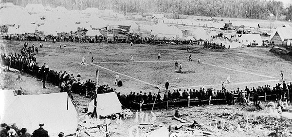 historical photo baseball game