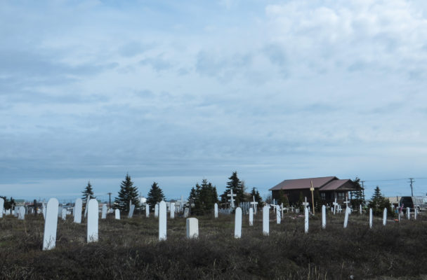 The Nome Cemetery. (Photo by Laura Kraegel, KNOM -Nome)