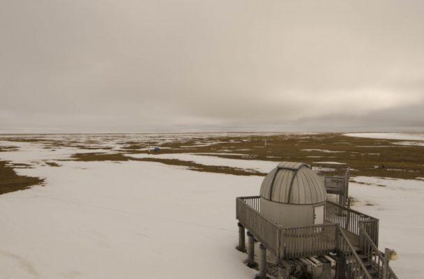 NOAA's Barrow Observatory recorded the earliest snowmelt (Photo courtesy of NOAA)