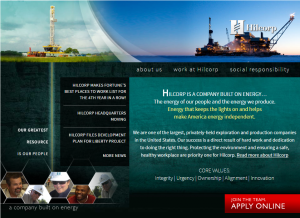 In the half decade since it started operations in Alaska, Hilcorp has become a significant oil producer and the largest natural gas producer in Cook Inlet. Website screenshot May 6, 2016