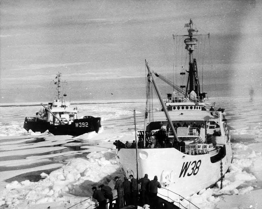 In 1957, the Storis (stern number W38) became the first U.S. ship to transit the Northwest Passage. (Photo Courtesy of US Coast Guard)