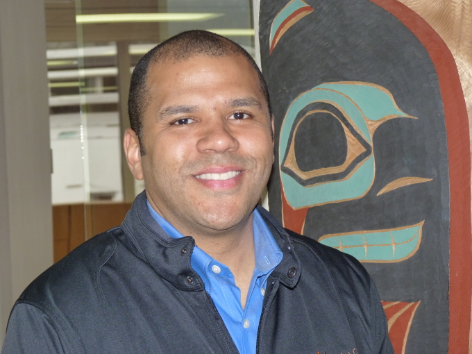 Russell Dick will take over as Huna Totem CEO this fall. The Native corporation for Hoonah operates the Icy Strait Point tourist attraction. (Photo by Ed Schoenfeld, CoastAlaska - Juneau)