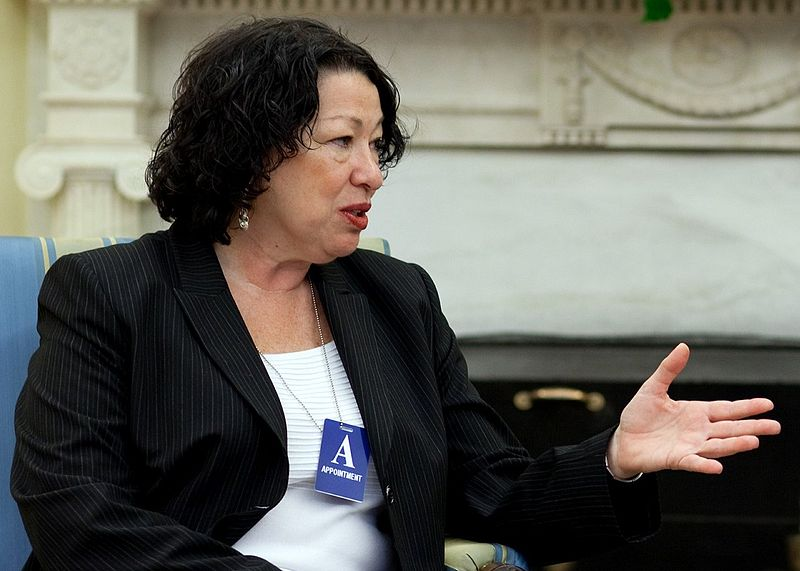 Sonia Sotomayor (Photo courtesy of the White House)