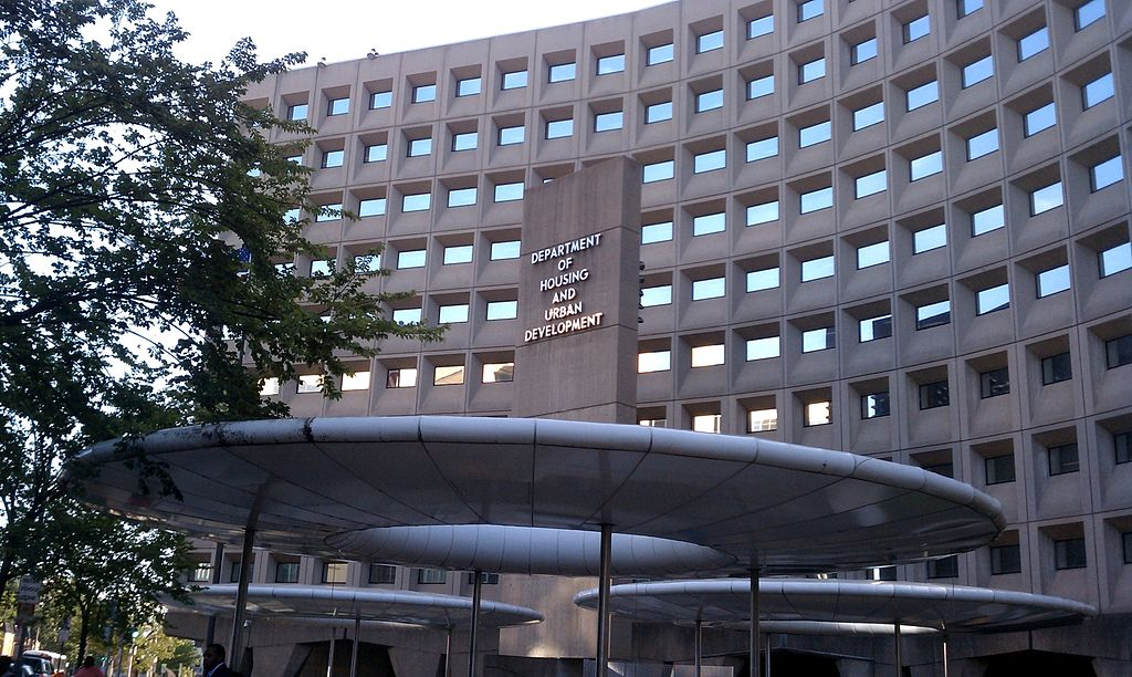 The Robert C. Weaver Federal Building in Washington, D.C., in the United States. As of September 2010, the building housed the U.S. Department of Housing and Urban Development. (Creative Commons photo by Wikimedia Commons)