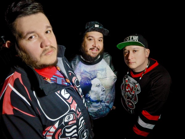 Originally formed in Ottowa, Canada in 2010, A Tribe Called Red have garnered international acclaim. Photo courtesy of Falling Tree Photography.