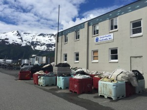 Great Pacific Seafoods' bankruptcy means the tiny town of Whittier is losing about 100 seasonal processing jobs and a number of tender contracts. (Photo by Graelyn Brashear, KSKA - Anchorage)