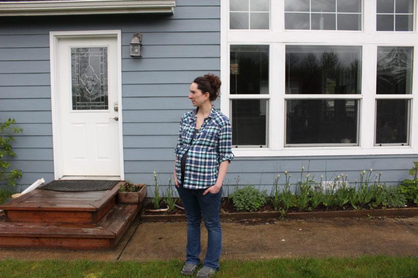 Anna Schetky at her home in Juneau. (Photo by Elizbeth Jenkins, KTOO - Juneau)