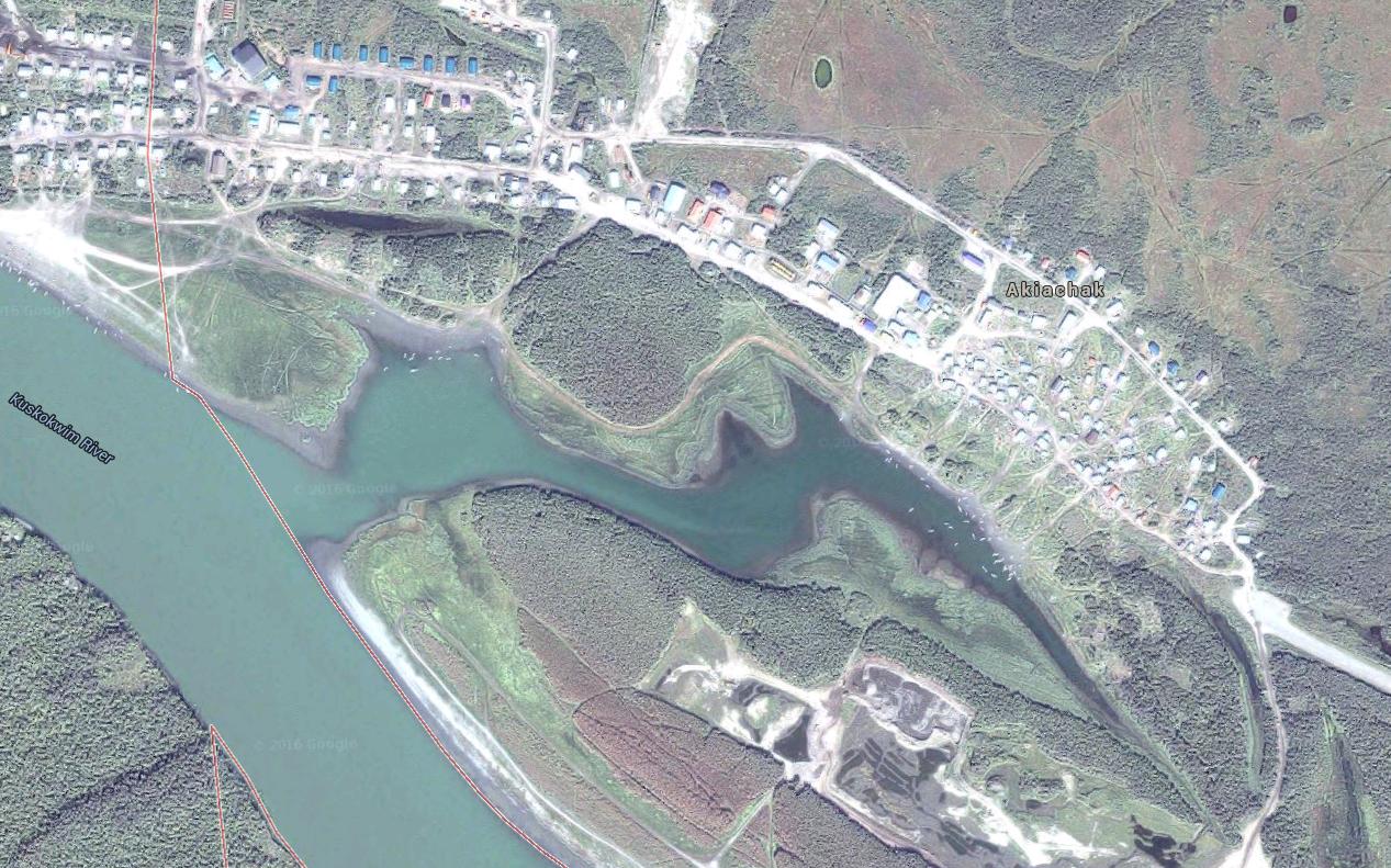 Akiachak Screenshot (Image courtesy of Google Maps)