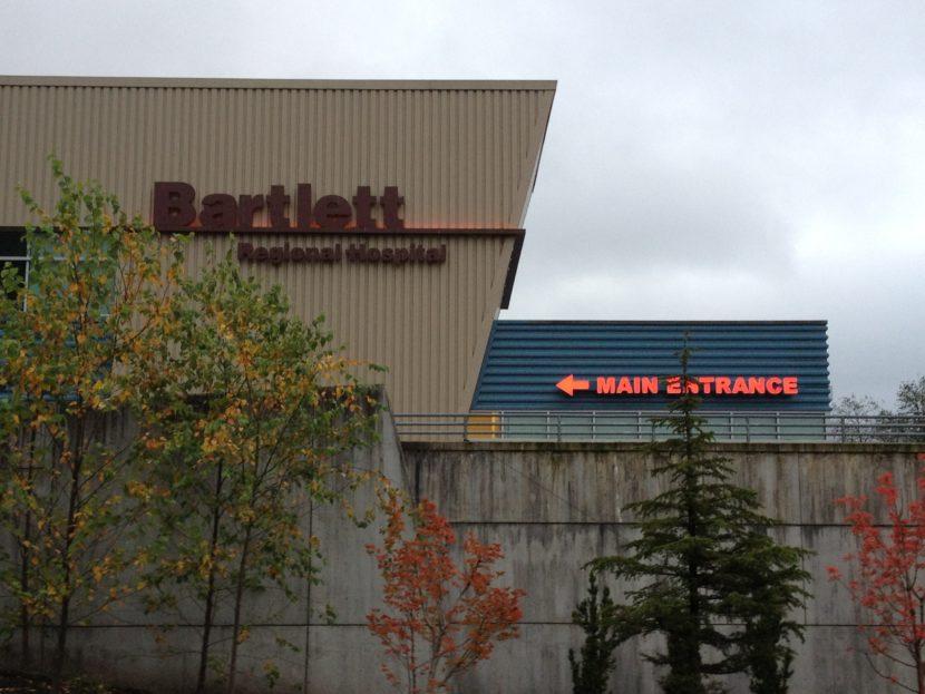Bartlett Regional Hospital. (Photo by Lisa Phu, KTOO - Juneau)