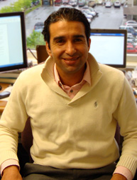 Mouhcine Guettabi, Assistant Professor of Economics at UAA (Photo courtesy of University of Alaska Anchorage)