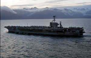 Northern Edge military exercise in the Gulf of Alaska. (File photo: U.S. Navy)