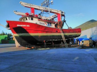 The Beaufort Sea is the fishing tender Arnold Skeek worked aboard. (Photo courtesy of Amy Meats)