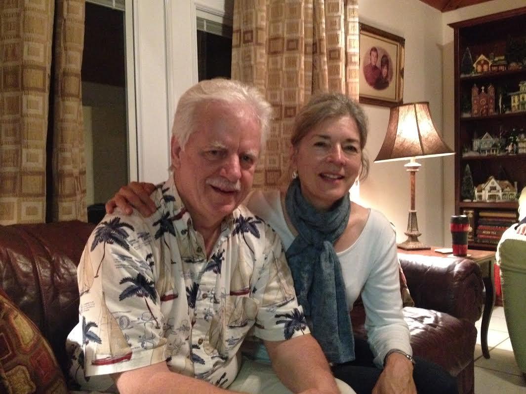 Nick and Lita Oppegard (Photo by Graelyn Brashear, Alaska Public Media - Anchroage)
