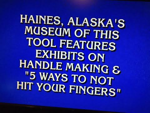 The Hammer Museum in Haines was featured on the quiz show Jeopardy in January. (Photo courtesy Hammer Museum)