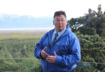 Dean Westlake is challenging Barrow Rep. Bennie Nageak in the Democratic primary; in 2014, Westlake lost the race by 131 votes. Photo: Rachel Waldholz/Alaska's Energy Desk