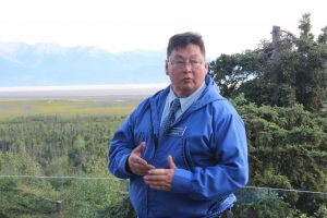 Dean Westlake is challenging Barrow Rep. Bennie Nageak in the Democratic primary; in 2014, Westlake lost the race by 131 votes. Photo: Rachel Waldholz/Alaska's Energy Desk