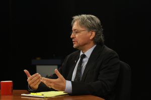 Tom Begich, candidate for Senate Seat J in Anchorage. (Early/Alaska Public Media)