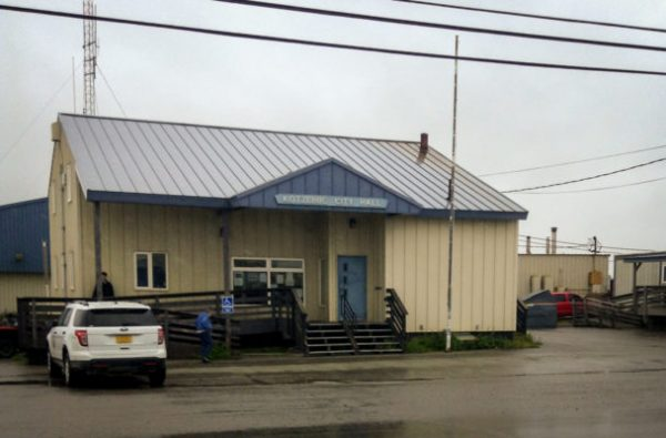 On October 4th, Kotzebue will decide whether or not they want alcohol sold in the city. (Tyler Stup/KNOM)