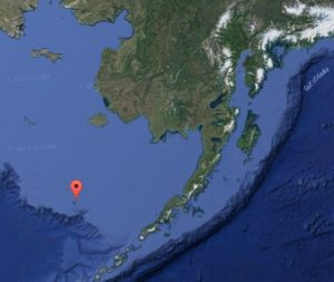 Location of St. George, Alaska. (Image: Google)
