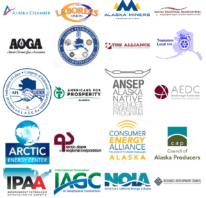20 groups are launching a media campaign to keep Arctic leases in the federal lease plan. Image from Arctic Energy Center.
