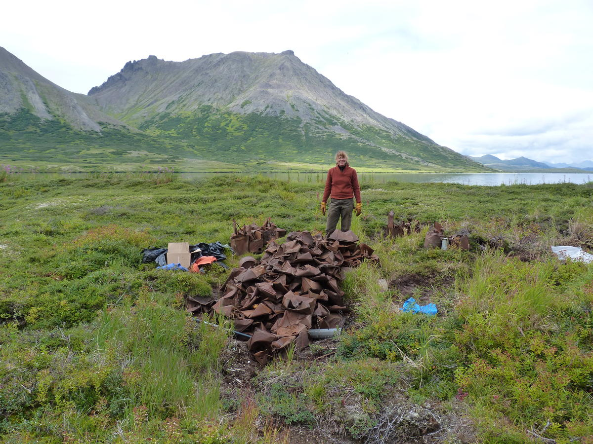 A Ton Of Junk Removed From Togiak National Wildlife Refuge