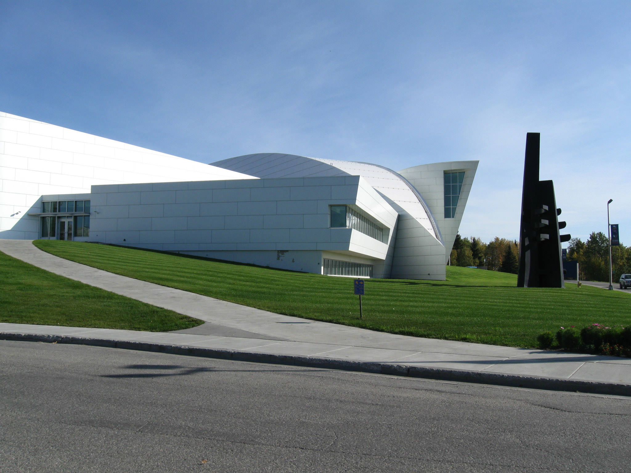 UA Museum of the North (Photo courtesy of the University of Alaska)