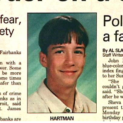 John Hartman's obituary photo (Photo of the Fairbanks Newsminer)