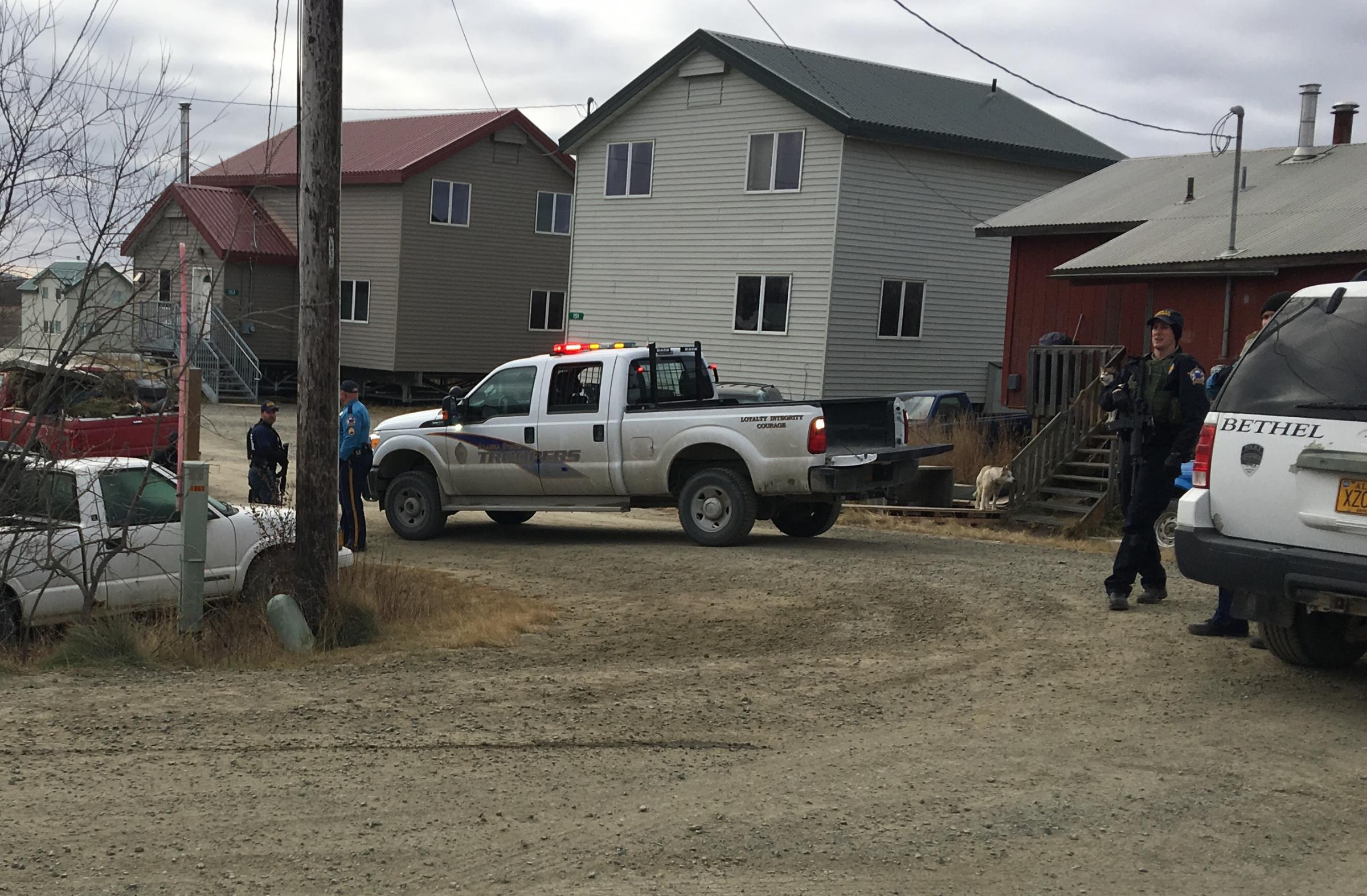 AST, BPD, and SDEU began investigating the case earlier this year. (Photo by Adrian Wagner, KYUK - Bethel)