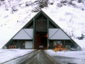 Whittier Tunnel closed after rocks fall, repairs underway