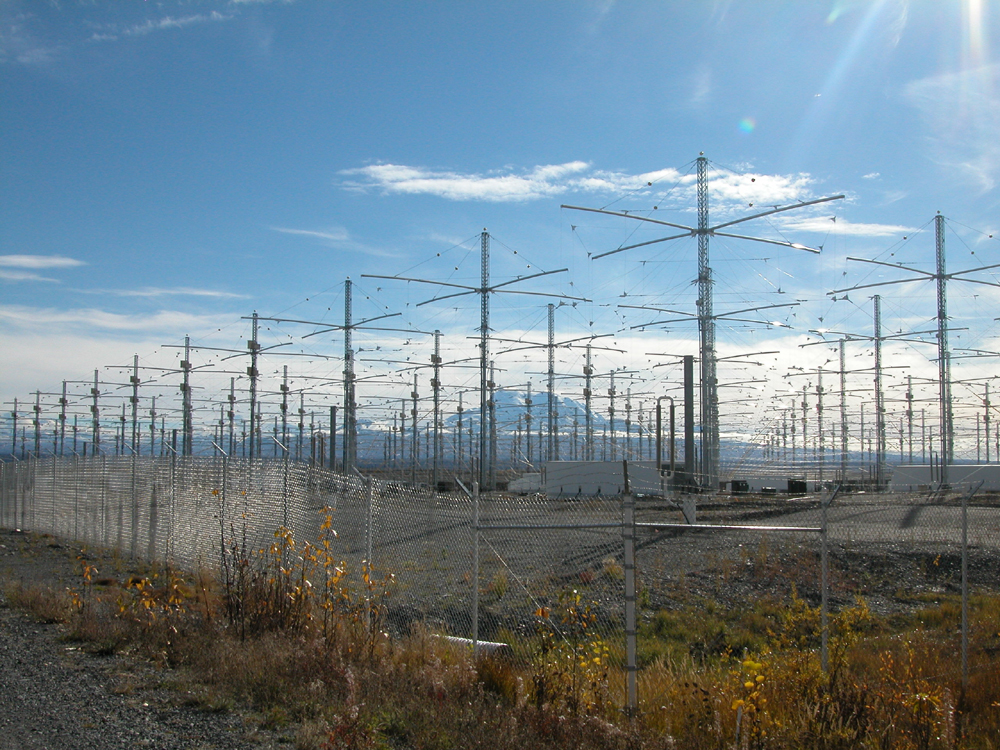 HAARP antenna array in Gakona, AK (Photo courtesy of the US Airforce)