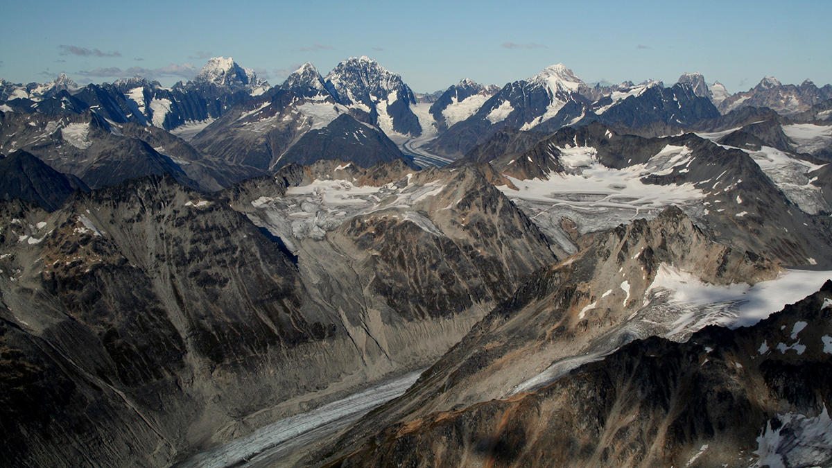 Neacola Moutains (Photo courtesy of the National Park Service)