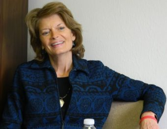 Sen. Lisa Murkowski opposed the ballot question legalizing marijuana sales, but doesn't want the federal government to keep people who've used marijuana from buying guns. (KRBD file photo)