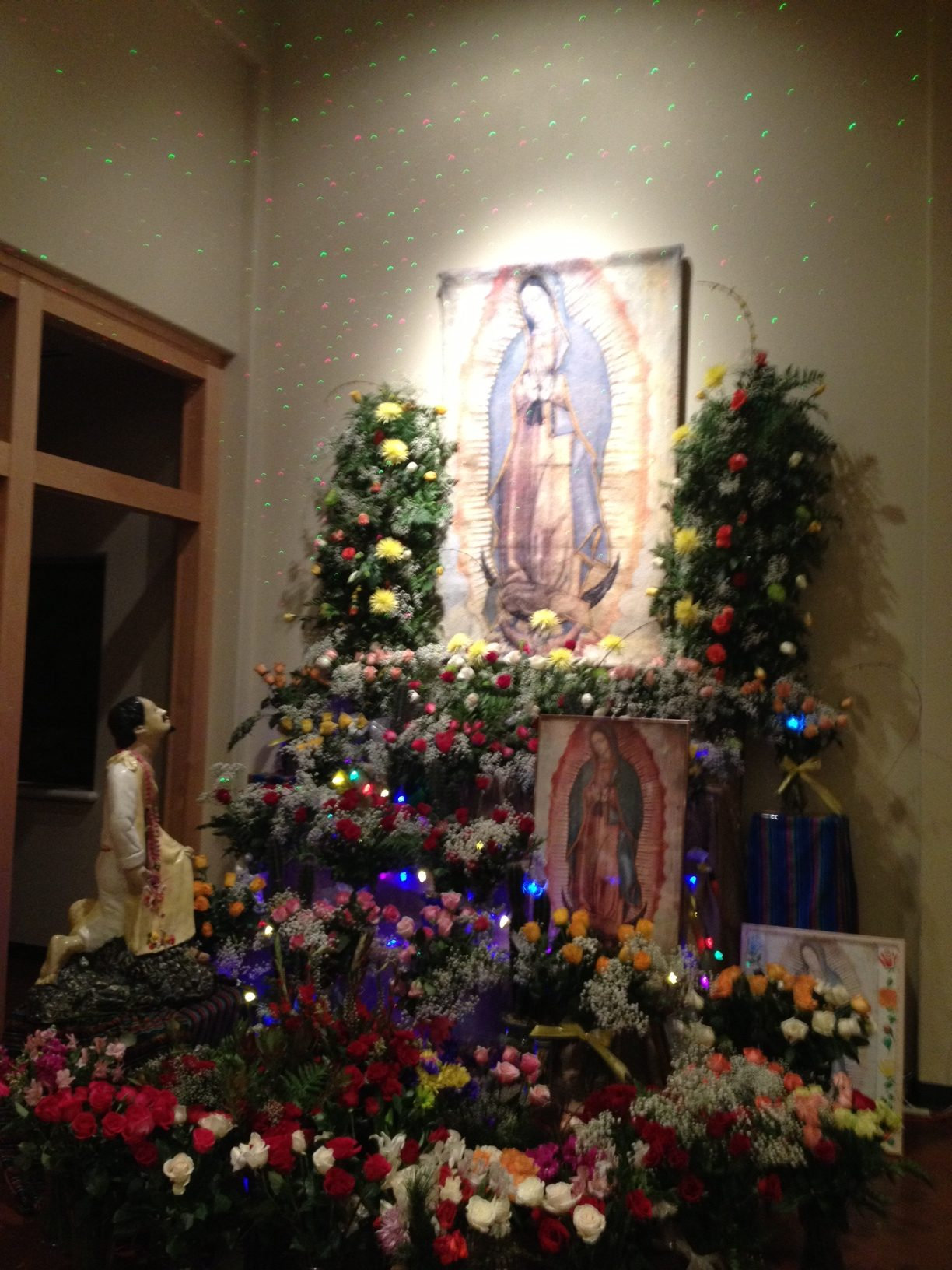 Shrine of Our Lady of Guadalupe in Anchorage at La Señora De Guadalupe cathedral. (Photo by Ellen Lockyer - Alaska Public Media)