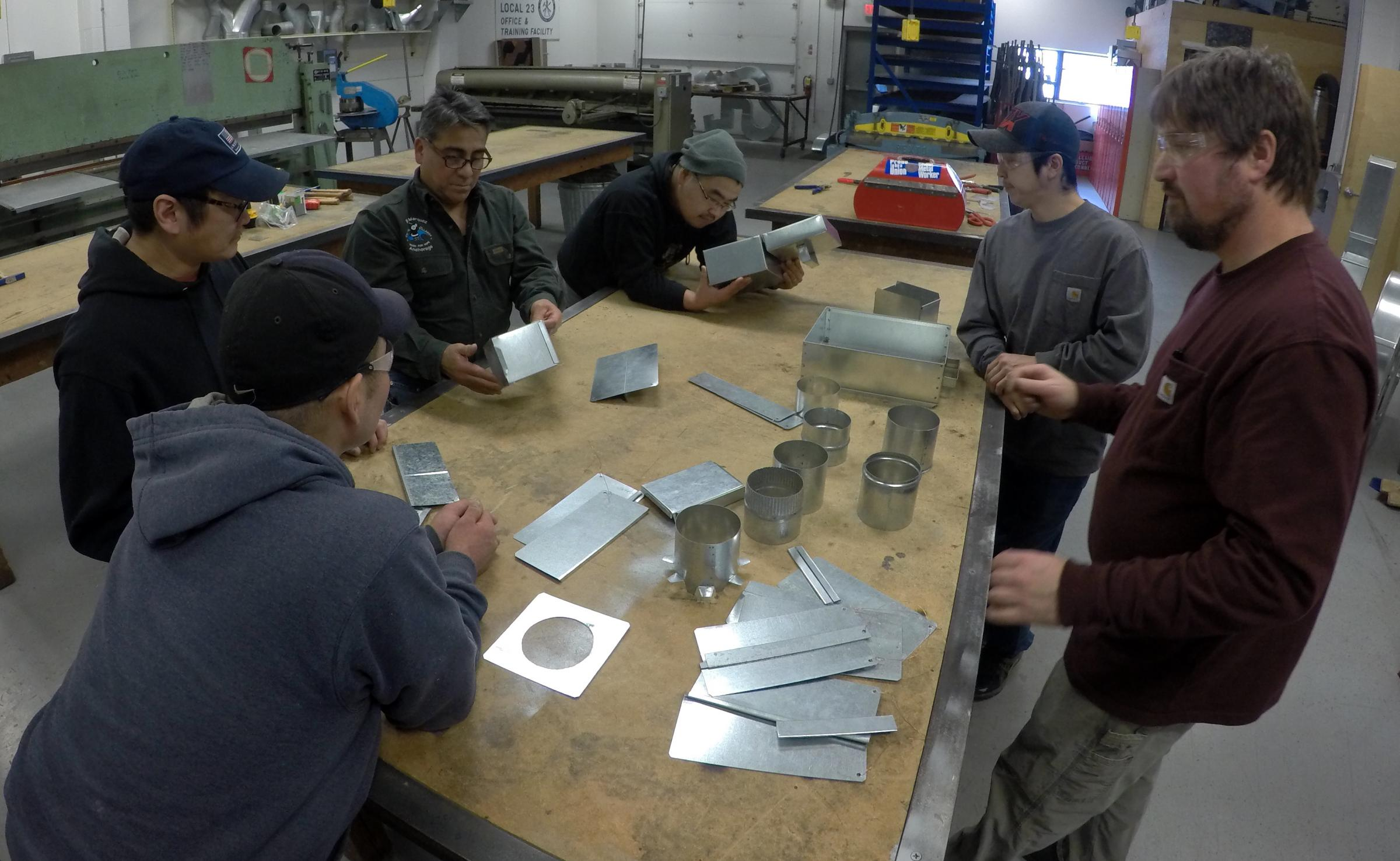 Sheet Metal Apprenticeship Organized In Rural Alaska