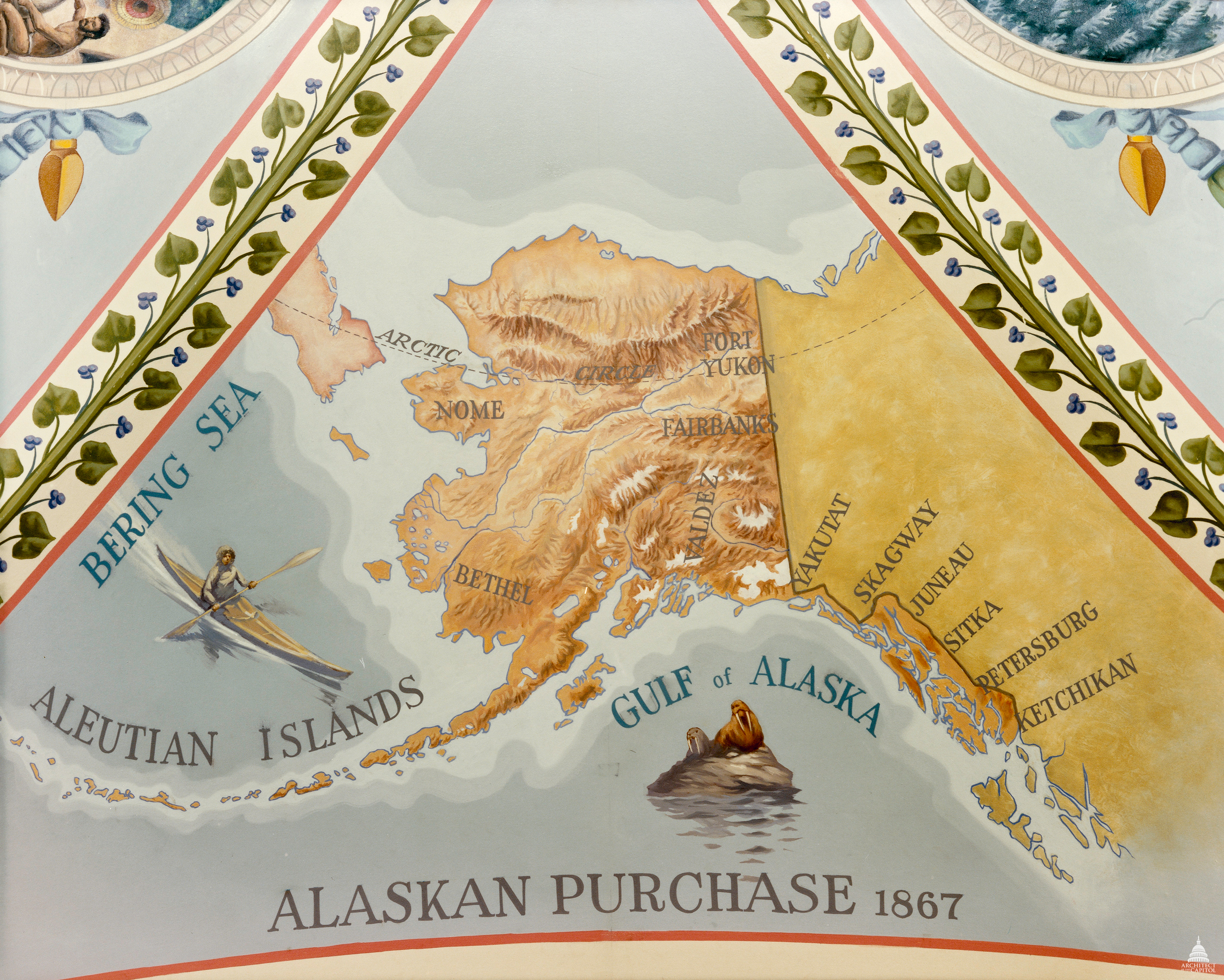 Searching for signs of Seward in DC Alaska Public Media