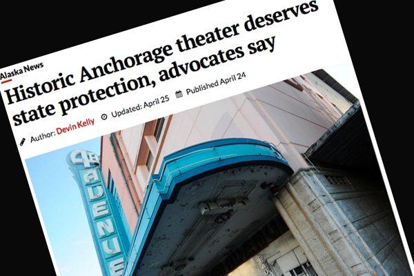 Fourth Avenue Theatre headline