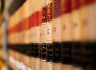 Law books