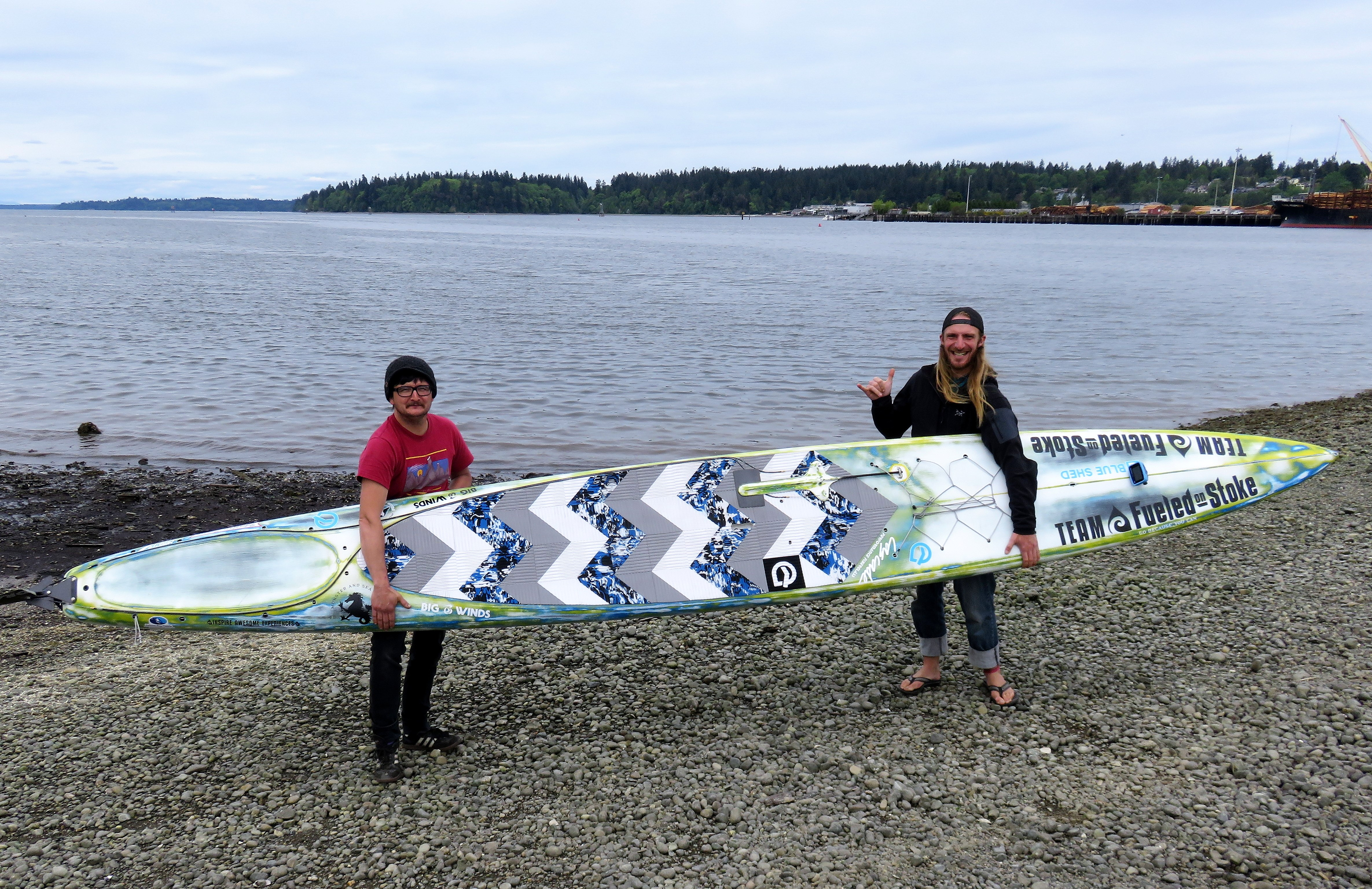 Stand Up Paddleboarding Suddenly Goes >> Audacious Adventurous Or Just Nutty Racing To Alaska On Stand Up