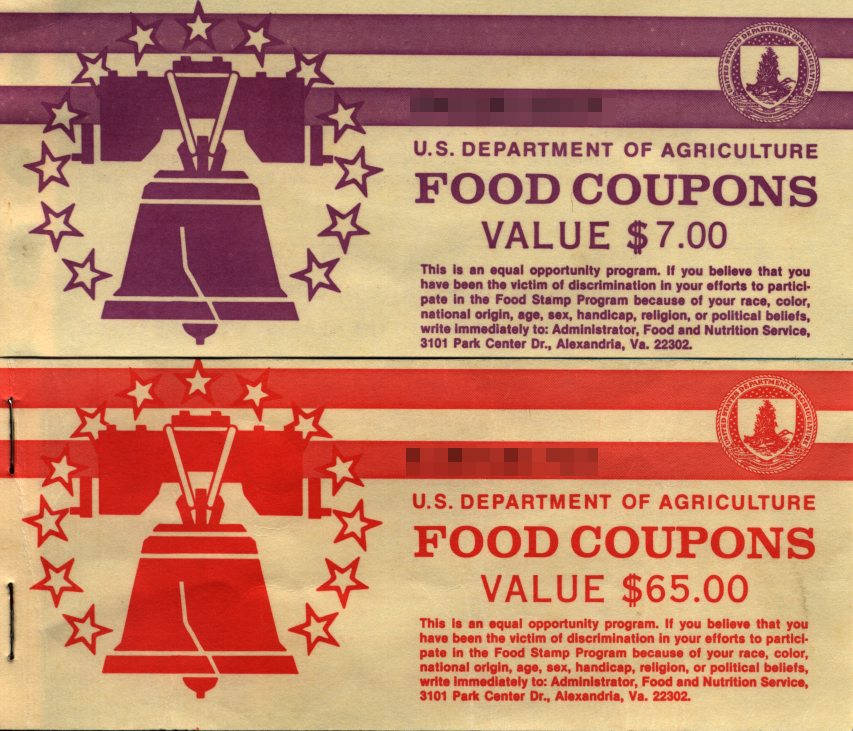 Buy Old Paper Food Stamps