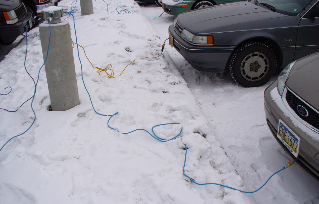 A Federal Grant Will Pay For The Alaska Department Of Transportation And Public Facilities To Install Nearly 200 Additional Engine Block Heater Outlets Like
