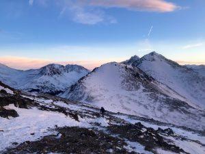 a5994b45f34b Hiking in Chugach State Park. (Emily Russell Alaska Public Media)