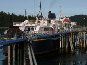 Storm, steering problem hit Southeast ferry service - Alaska Public