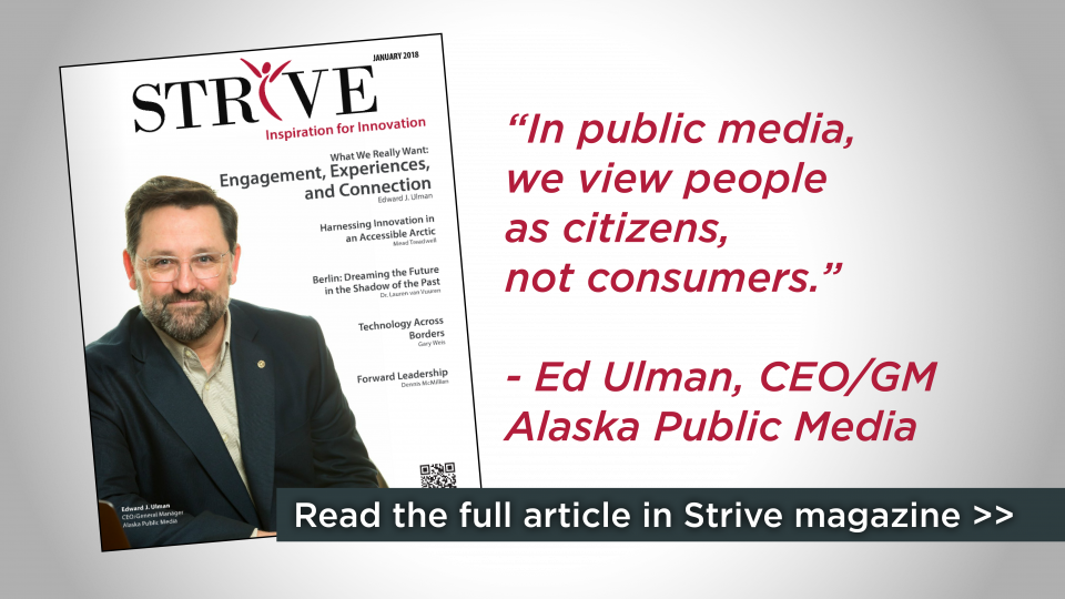 AKPM's Ed Ulman featured in Strive magazine
