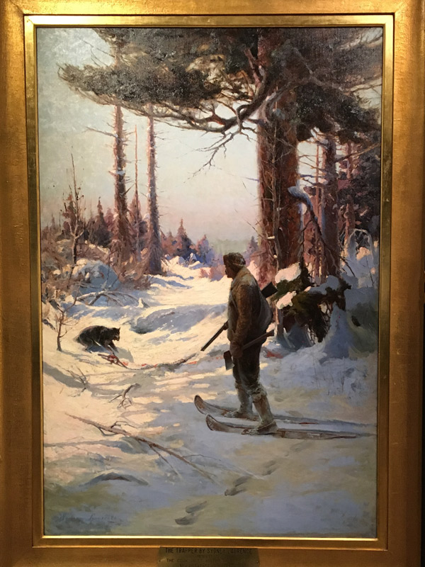 The Trapper by Sydney Laurence 1914
