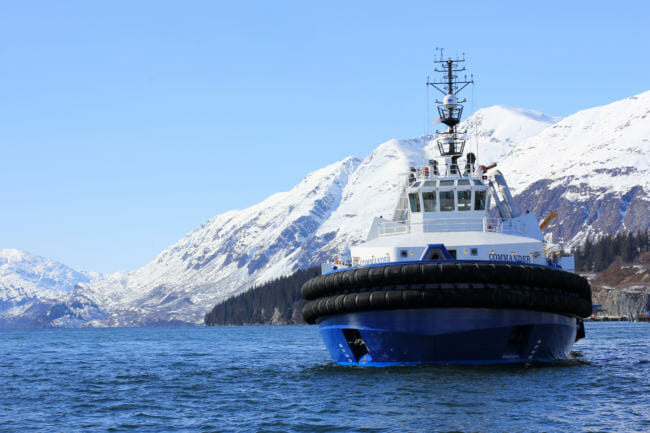 As oil spill response vessels arrive, Alyeska argues Prince