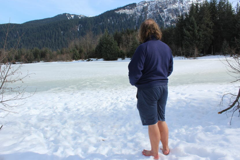 Ak What S The Deal With Juneau S Barefoot Guy Alaska