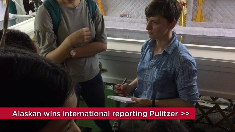 An Alaskan abroad wins international reporting Pulitzer