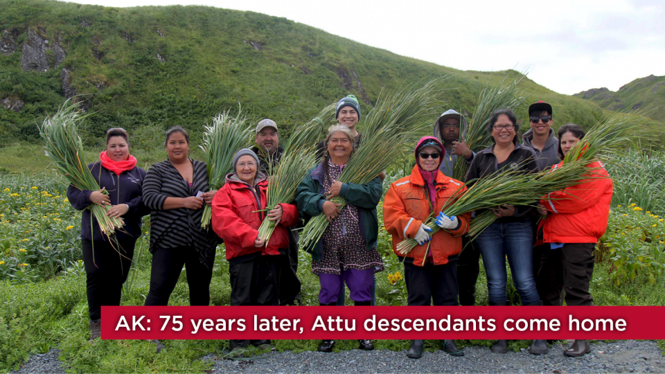 AK: After 75 years, a bittersweet homecoming for Attu descendants