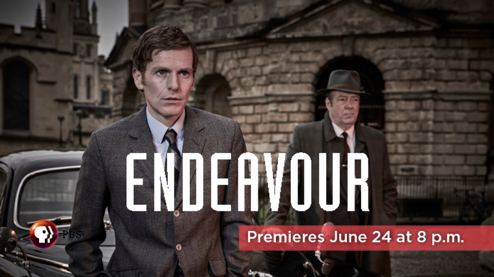Endeavour premieres on Alaska Public Media this June!